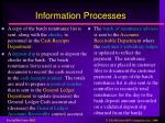 information processes1