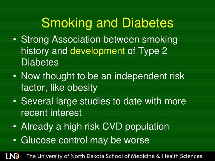Smoking and Diabetes