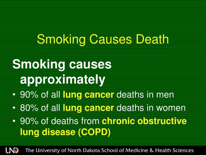 Smoking Causes Death