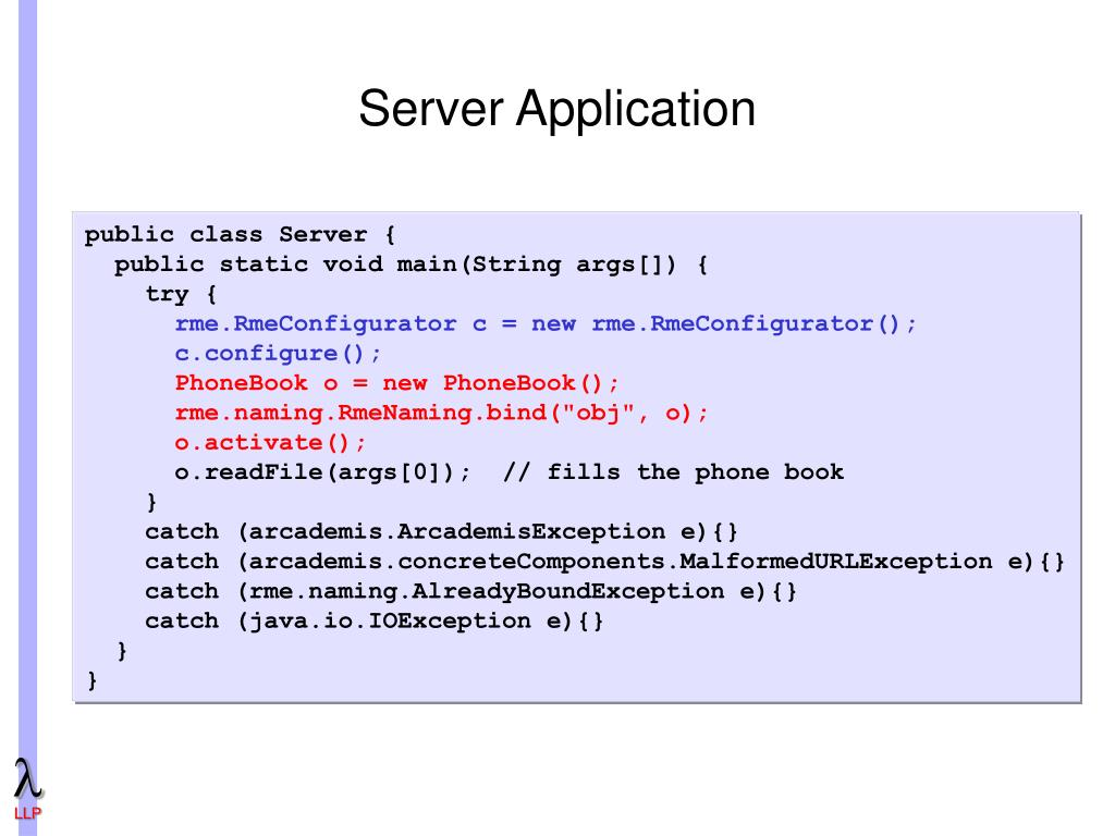 PPT - Arcademis: a Framework for Middleware Development