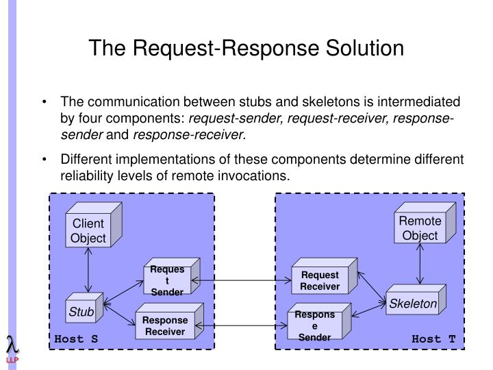 The Request-Response Solution