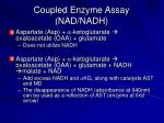 coupled enzyme assay nad nadh