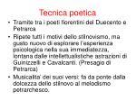 tecnica poetica1