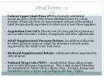 drug terms 3