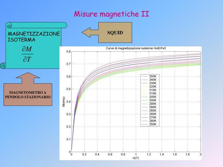 Misure magnetiche II