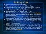 salinity cont