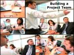 building a project team