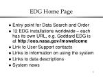 edg home page