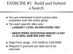 exercise 1 build and submit a search