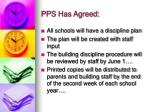 pps has agreed