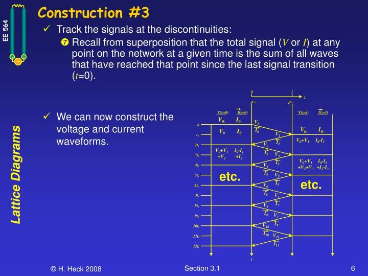 Construction #3