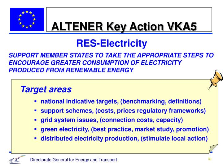 ALTENER Key Action VKA5
