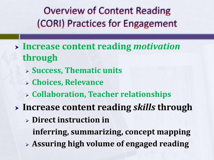 Overview of Content Reading
