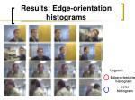 results edge orientation histograms