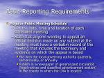 basic reporting requirements3