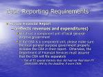basic reporting requirements8