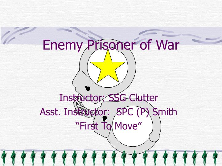 enemy prisoner of war n.