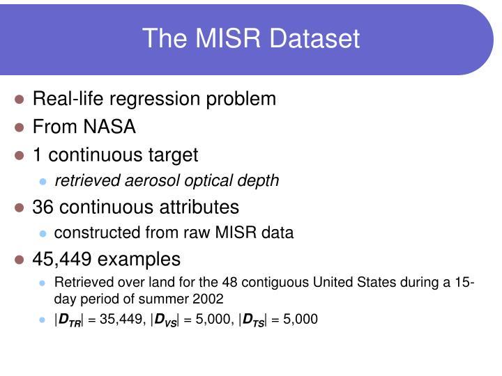 The MISR Dataset
