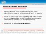 national census geography