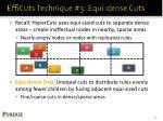 efficuts technique 3 equi dense cuts
