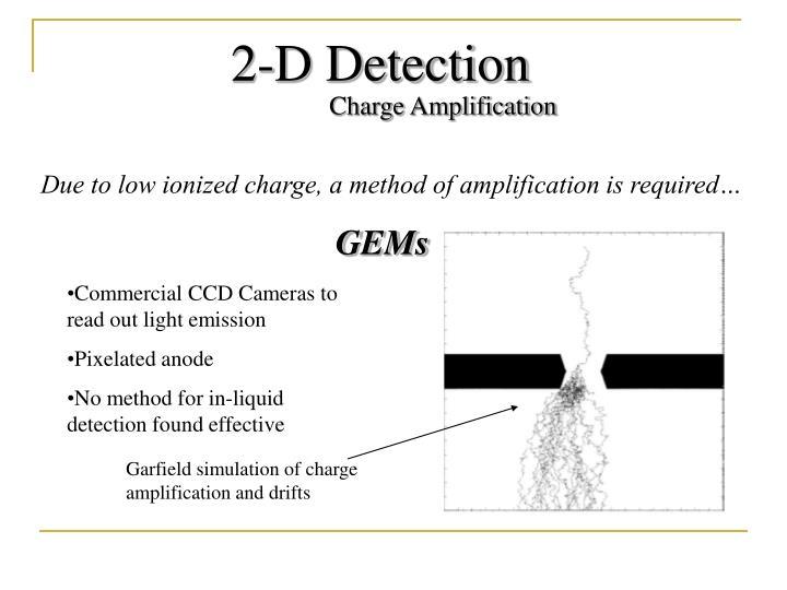 2-D Detection