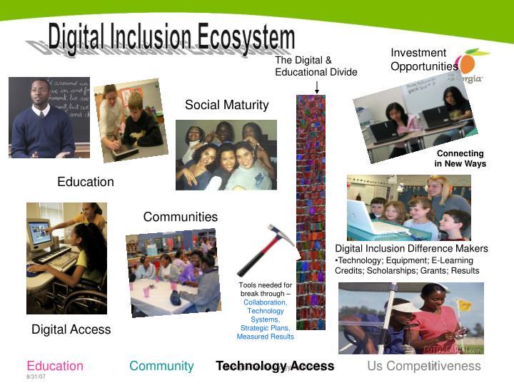 Digital Inclusion Ecosystem