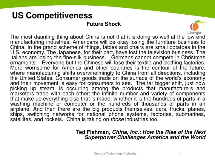 US Competitiveness