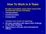 how to work in a team1