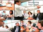 structuring your team