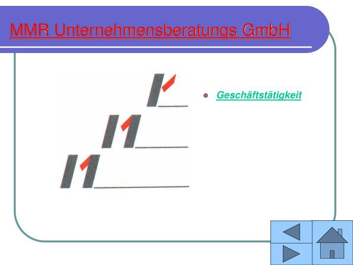 MMR Unternehmensberatungs GmbH