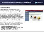 biomedical informatics bundle caarray