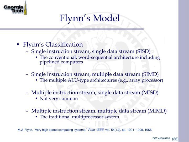 Flynn's Model