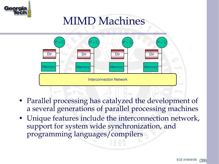 MIMD Machines