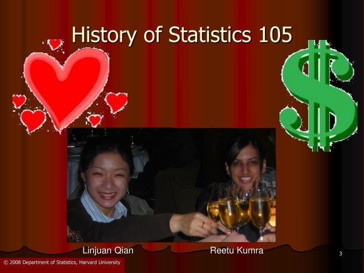 History of statistics 1051