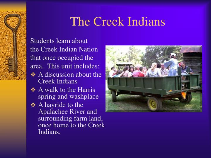 The Creek Indians