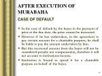 after execution of murabaha1