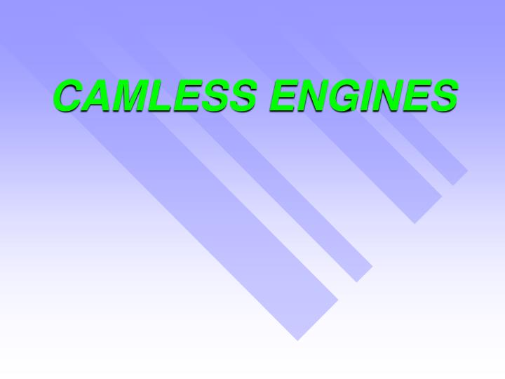 camless engines n.