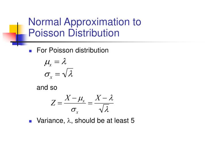 Normal Approximation to
