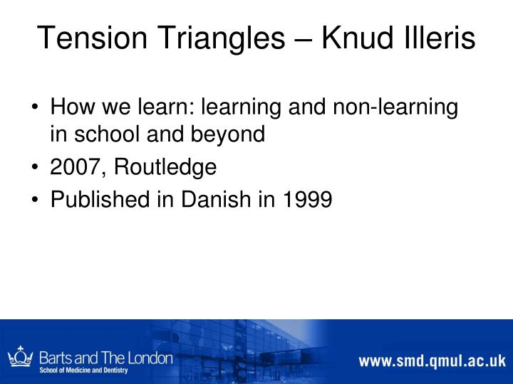 Tension Triangles –