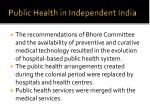 public health in independent india1