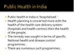 public health in india6