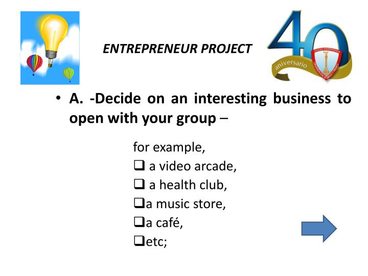 Entrepreneur project1