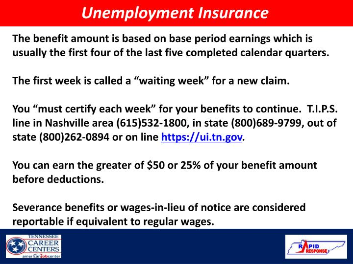 PPT - Tennessee Department of Labor And Workforce Development ...