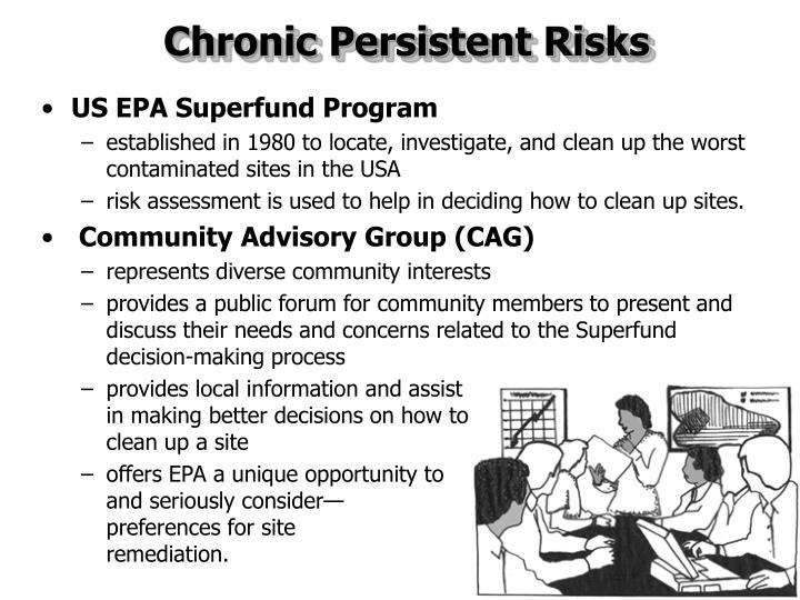 Chronic Persistent Risks