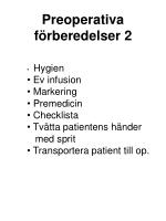 preoperativa f rberedelser 2