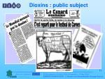 dioxins public subject