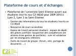 plateforme de cours et d changes
