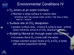 environmental conditions iv