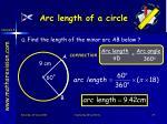 arc length of a circle3