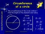 circumference of a circle3